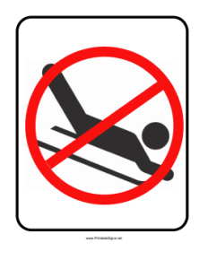 No_Sledding_Sign