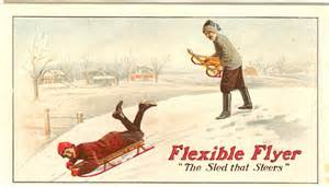 post card of flexible flyer