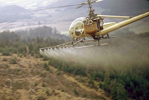 forest weed spraying