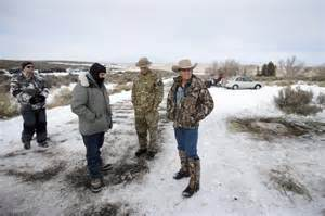 Actual occupation of the Malheur Refuge near burns Oregon